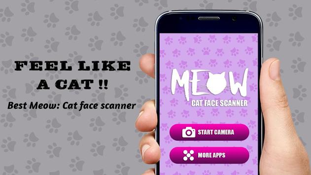 Cat Face Scanner Simulator poster