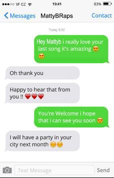 talk to matty b online