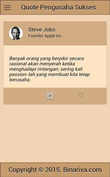 Quote Pengusaha Sukses screenshot 4