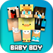Baby Boy Skins For MCPE