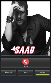 call from saad poster