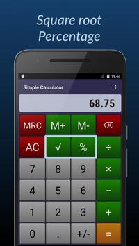 Simple Calculator ảnh chụp màn hình 3