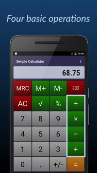 Simple Calculator screenshot 1