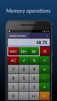 Simple Calculator ảnh chụp màn hình 2