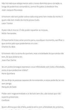 Frases poderosas em Português apk screenshot