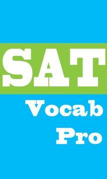 SAT Vocabulary PRO poster