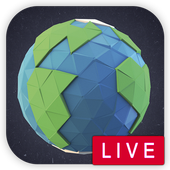 🌏Live Satellite Real-Time Map icon