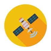 Satellite director _satellite finder icon