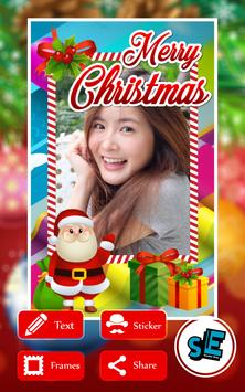 Christmas photo frames ♛ poster