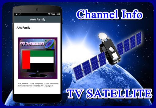 Sat TV UAE Channel HD apk screenshot