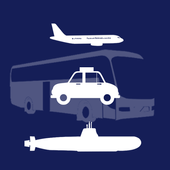 Vehicles for toddlers icon