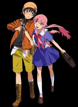 Yuno Gasai Mirai Wallpaper HD Poster Screenshot 1