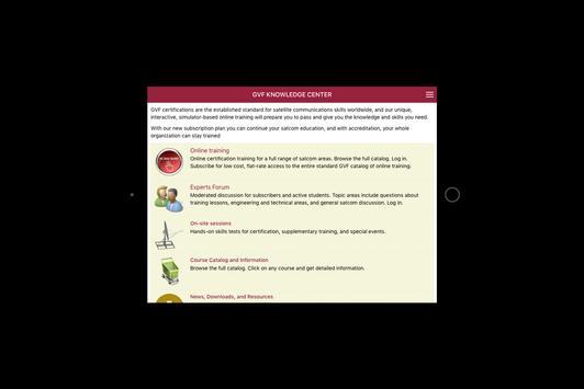GVF Knowledge Center apk screenshot