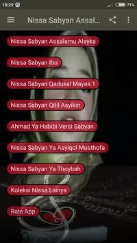 Nissa Sabyan Assalamu Alayka screenshot 3