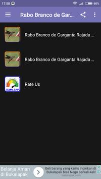 Rabo Branco de Garganta screenshot 2