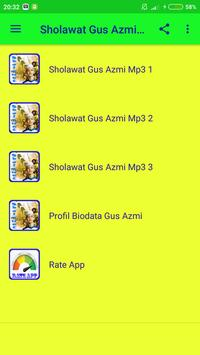 Sholawat Gus Azmi Mp3 Offline screenshot 1