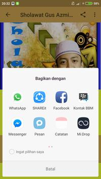 Sholawat Gus Azmi Mp3 Offline screenshot 3