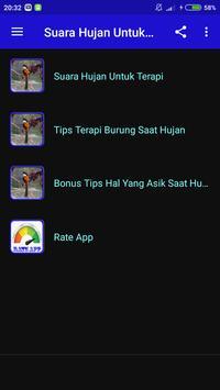 Suara Hujan Untuk Terapi Burung screenshot 2