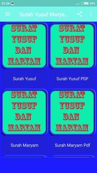 Surat Yusuf Dan Maryam Mp3 screenshot 3