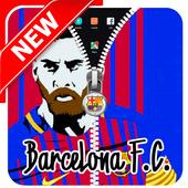 Barcelona: Messi Lock Screen icon