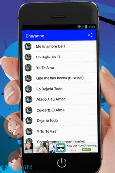 Chayanne Songs & Lyrics screenshot 1