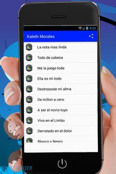 Kaleth Morales Songs apk screenshot