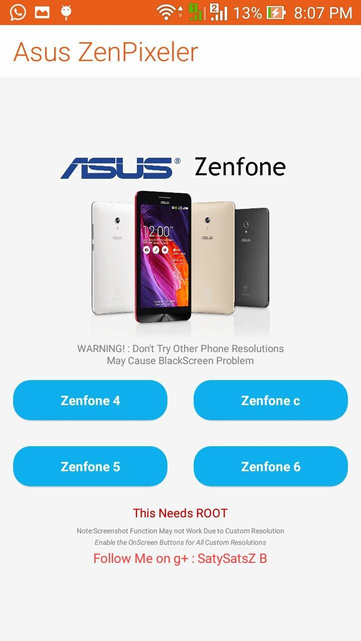 Root Zenfone 5 Lollipop