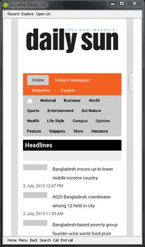 All Top Bangla Newspapers BD screenshot 7