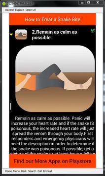 Snake Bite Emergency Tips screenshot 5