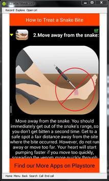 Snake Bite Emergency Tips screenshot 7
