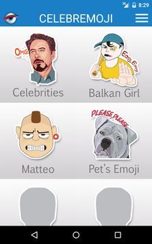 Celebremoji Stickers Free screenshot 8