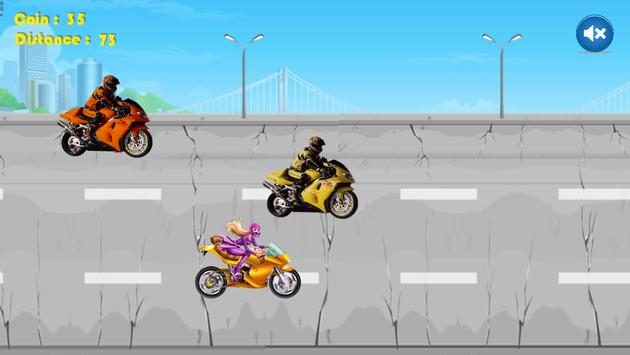 Traffic Spy Racing for Barbie apk screenshot