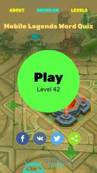 Mobile Legends Word Quiz apk screenshot
