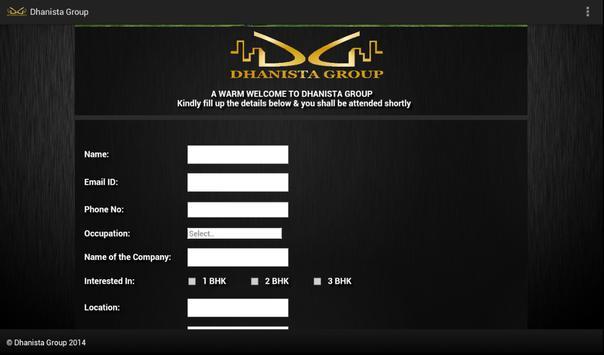 Dhanista Group apk screenshot