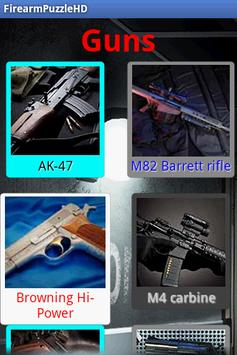 Guns Puzzle poster