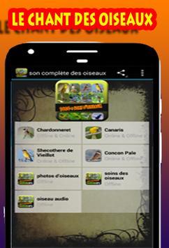 Collection de sons d'oiseaux screenshot 1