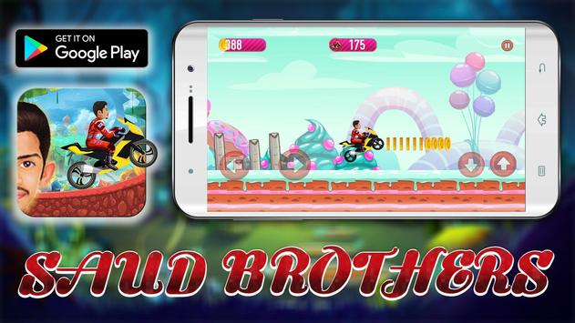 Sаud Brother Motorbike Adventures apk screenshot