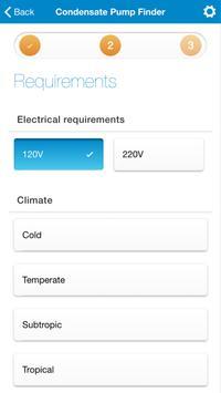 Condensate Pump Finder screenshot 2