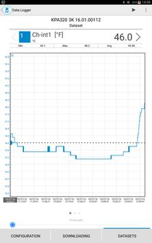 Sauermann Data Logger screenshot 2