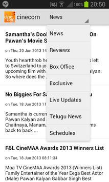 Cine Corn - Telugu Cinema screenshot 3