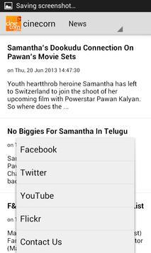 Cine Corn - Telugu Cinema screenshot 4