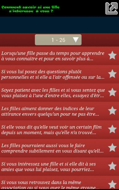 Savoir Si Tu Plais à Une Fille For Android Apk Download