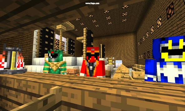 Mod Power Rangers for MCPE poster