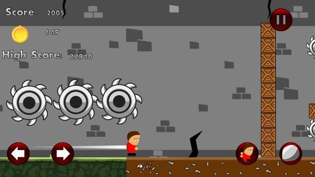 Little Dougie: Zombie Escape ! screenshot 1