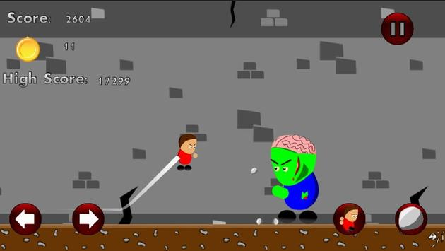 Little Dougie: Zombie Escape ! screenshot 2