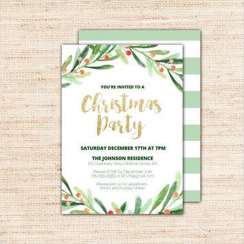 Party Invitation Card screenshot 4