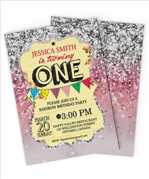 Party Invitation Card screenshot 5
