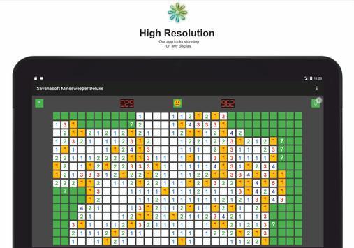 Minesweeper Deluxe - Classic Game from Savanasoft screenshot 5