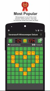 Minesweeper Deluxe - Classic Game from Savanasoft poster