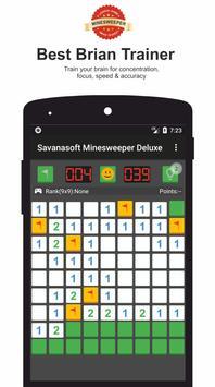 Minesweeper Deluxe - Classic Game from Savanasoft screenshot 1